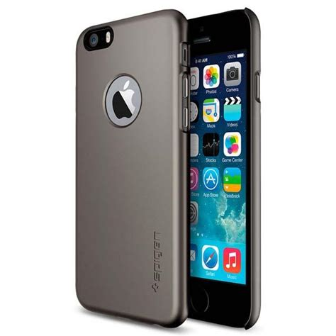 Belakang Iphone 6 4 7 6g 6s Anti Glare Gores Minyak Pro Screen 905188 spigen thin fit a 4 7 iphone 6 gadgetsin