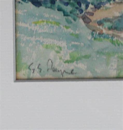 gordon eastcott payne watercolour painting  sale  stdibs