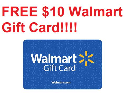 How To Get A Walmart Gift Card - hot free 10 walmart gift card heavenly steals