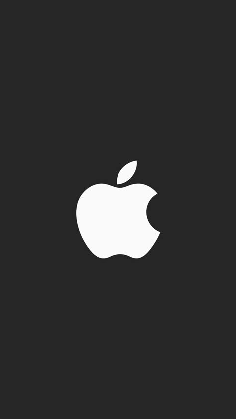 apple minimal logo black iphone wallpaper iphone wallpapers
