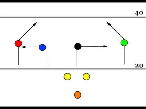 seven plays 83 mirror 7 on 7 free flag football play youtube
