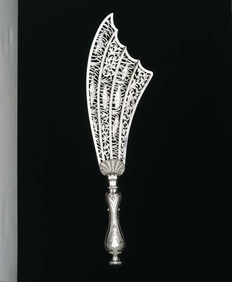Ac 6353 Silver fish serving knife george w v a search the