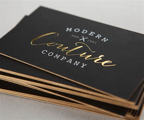 luxury business card the press luxury business cards 16pt to 32pt