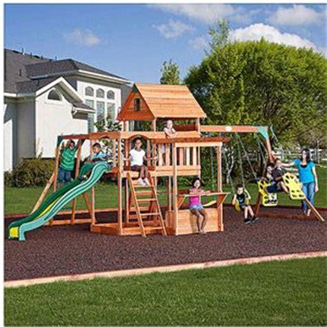 Backyard Discovery Uk 1000 Ideas About Cedar Swing Sets On Swing