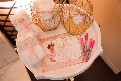 Tutu Baby Shower by Pink And Gold Tutu Baby Shower Baby Shower Ideas