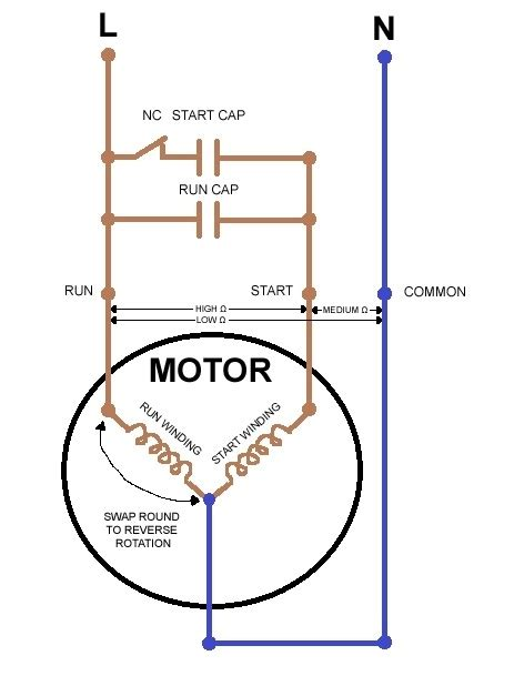 start capacitor wiring starting capacitor wiring diagram wiring diagram and schematic diagram images