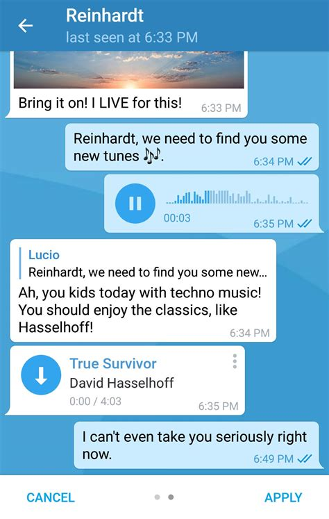 telegram custom themes telegram adds custom themes to its android app in the