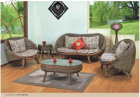 wicker living room sets rattan furniture living room set hm tw 0503008 china