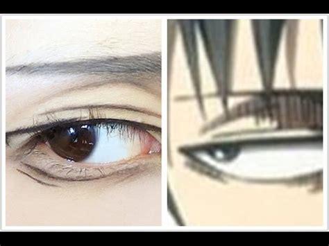 levi makeup tutorial levi tutorial anime eye makeup 42 youtube