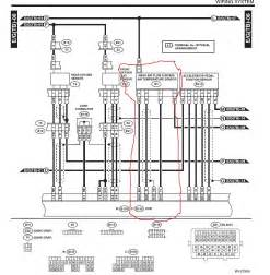 subaru harness wiring diagram diagram for a 2010 wrx