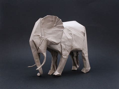 White Elephant Origami - origami safari 26 beautiful animals made out of paper