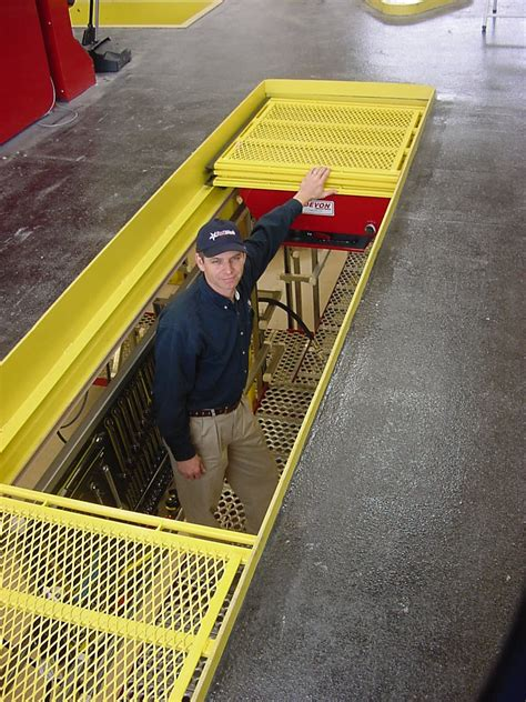 pit screen covers devonlube ez glide pit safety cover