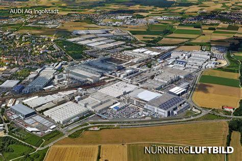 Audi Hauptsitz Deutschland by Audi Ag In Ingolstadt Luftaufnahme