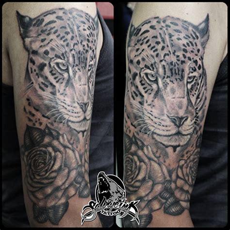 jaguar tattoo black and grey jaguar tattoo black and grey doble clik en la imagen