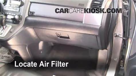 Cabin Filter Honda Crv by Cabin Filter Replacement Honda Cr V 2007 2011 2009