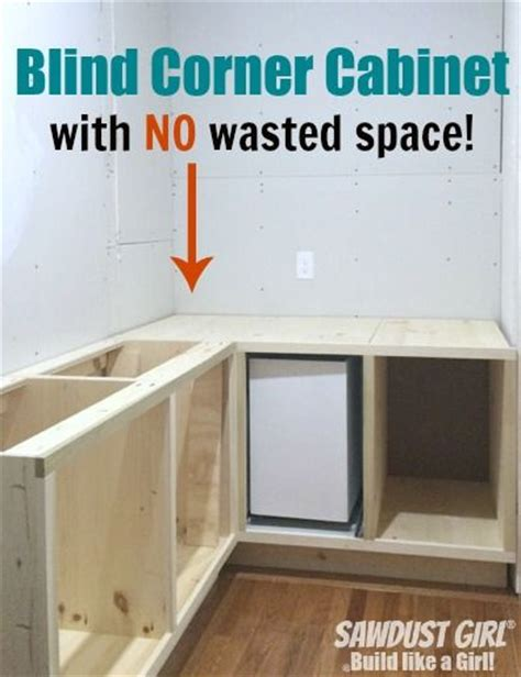 how to build a blind corner cabinet build a blind corner cabinet with no wasted space plan