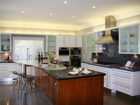 hgtv kitchen design contemporary white kitchen with spacious kitchen island hgtv