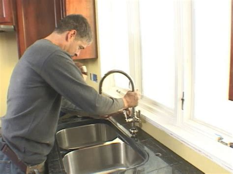 install undermount kitchen sink how to install an undermount sink and a granite tile