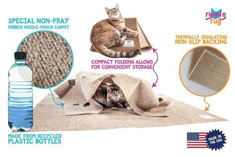 cat activity rug ripple rug interactive cat activity mat the green