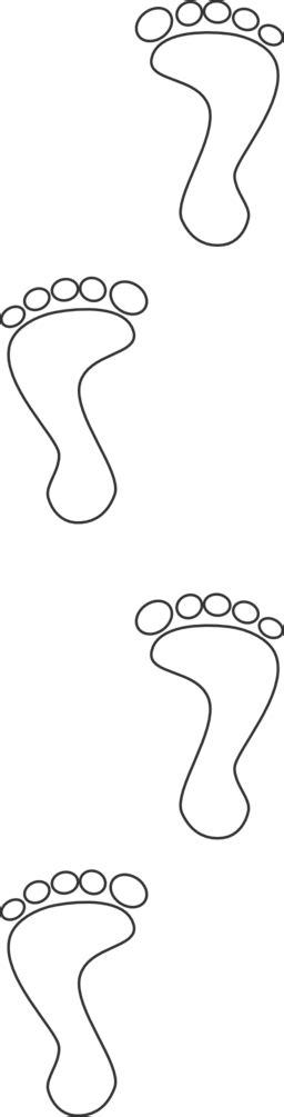 huellas footprints clipart iclipart royalty