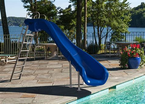backyard water slides water slide for backyard pool backyard design ideas