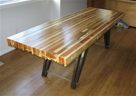2x4 Kitchen Table Table Made From 2x4 And 1x4 Wood Scraps For The Home
