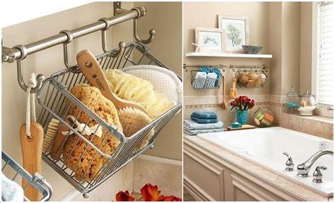 hang baskets on bathroom wall 15 knockout bathroom storage ideas that won t break the