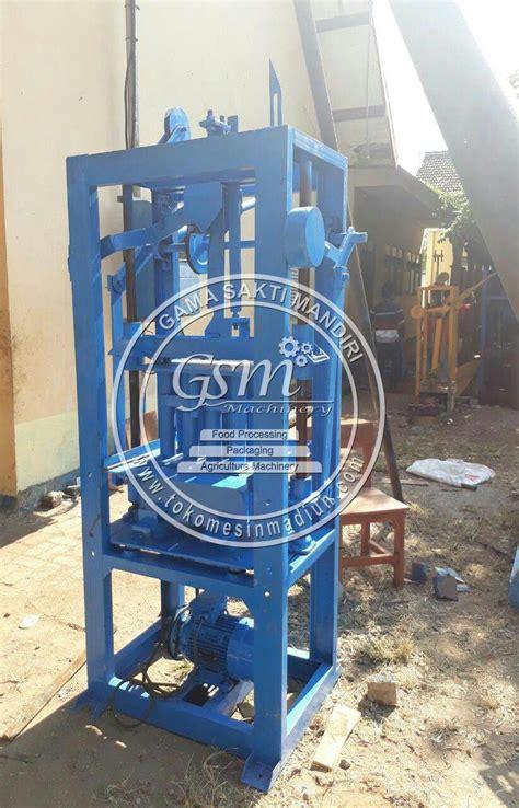 Jual Cetakan Batako Di Medan mesin cetak batako paving sistem getar toko alat mesin usaha