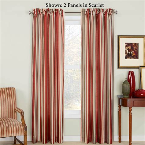 striped drapes window treatments maxton striped window treatment
