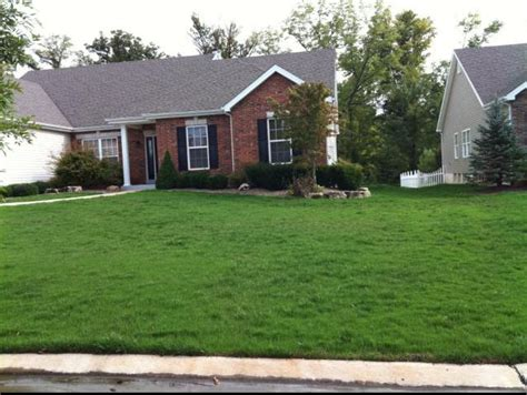 lawn care and mowing in st charles mo heritage lawn
