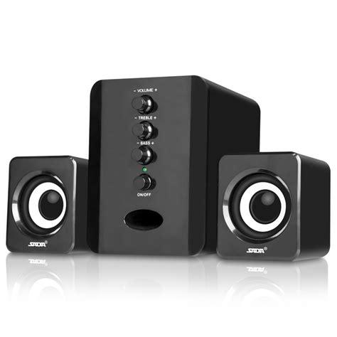Speaker Usb Bass Mini usb powered 3 5mm audio woofer speaker 2 1 stereo mini portable bass speaker for pc