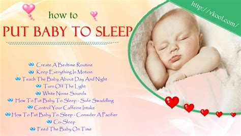 How Do You Get Baby To Sleep In Crib 10 Simple Ways On How To Put Baby To Sleep Without
