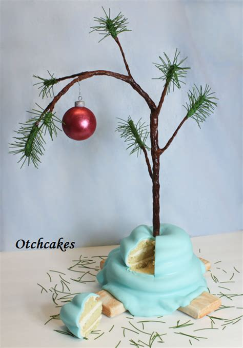 real charlie brown christmas tree brown tree cake cakecentral