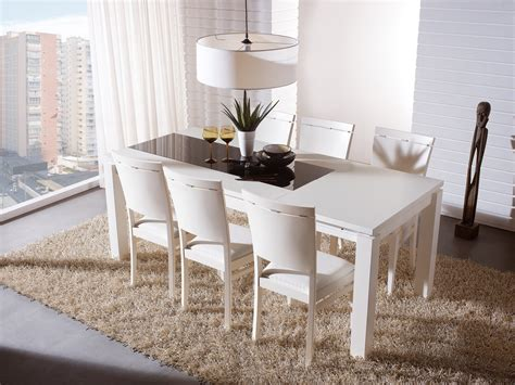 White Modern Esszimmer Sets by Dining Room Furniture Dining Tables Chairs