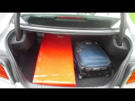opel insignia trunk space opel insignia trunk space youtube
