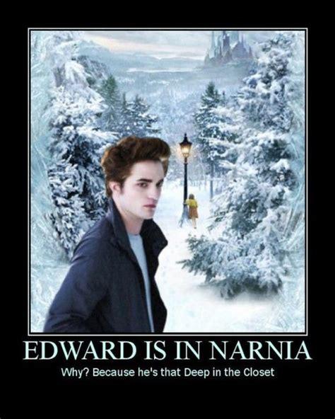 Edward Meme - edward is in narnia e1299532485284
