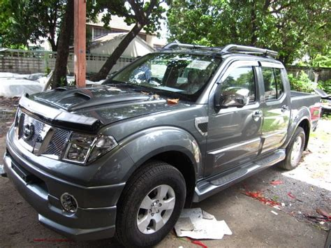 navara nissan modified cars nissan frontier navara modified pictures
