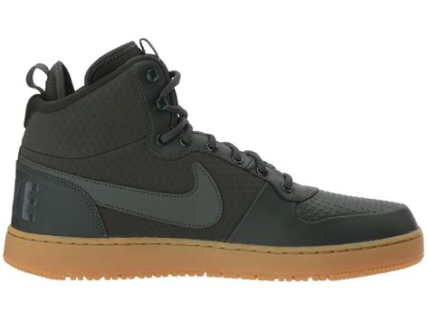 Nike Mid Sneakers Casual nike s court borough mid winter outdoor casual