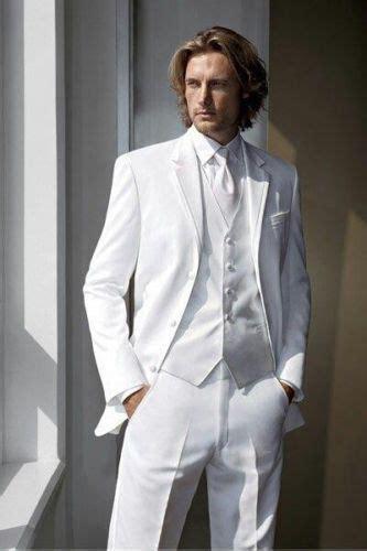 2015 White Groom Tuxedo Men Suit Groom Suit New Wedding