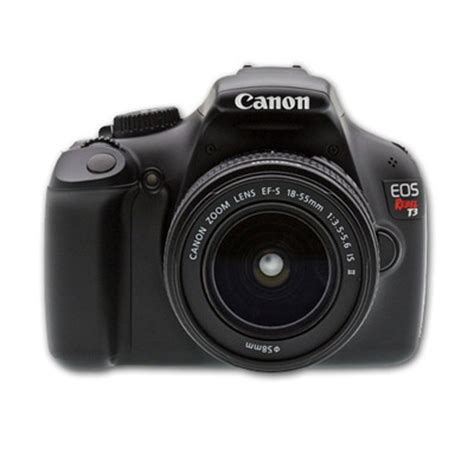 canon eos rebel t3 digital slr camera kit sale $329.99