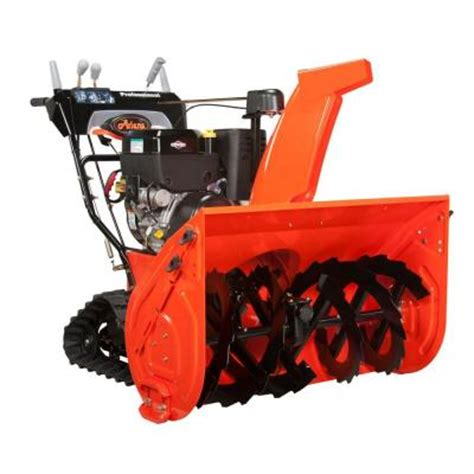 ariens professional track series 28 in two stage electric