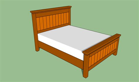 Size Bed And Frame by How To Build A Size Platform Bed Frame