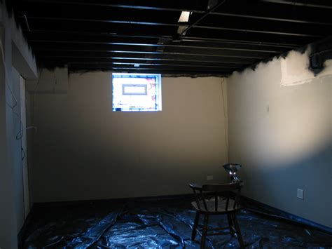 Painting Basement Ceilings by Basement Painting