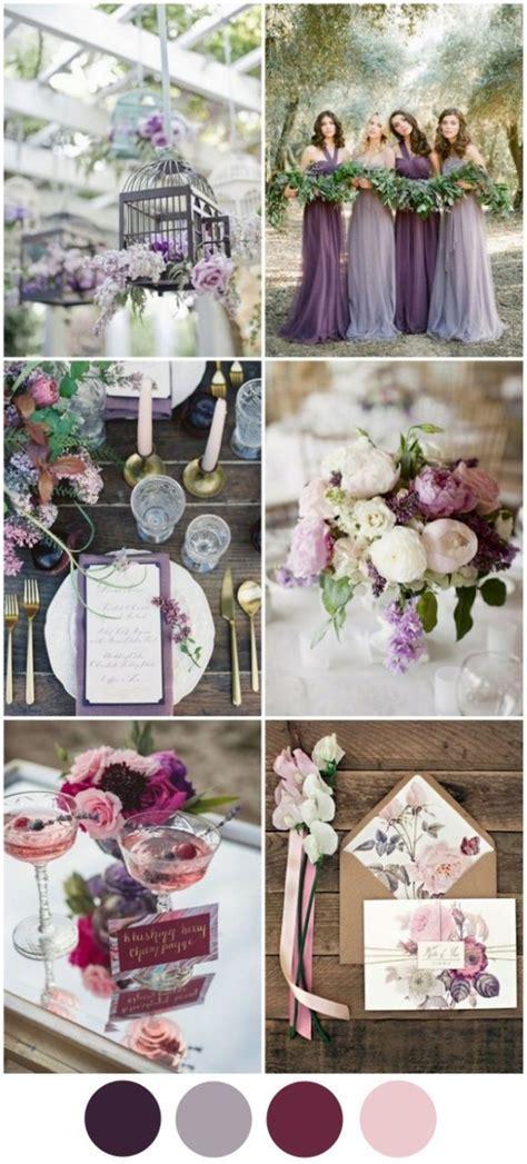 4 Fabulous Wedding Colour Schemes for A/W 2016/2017