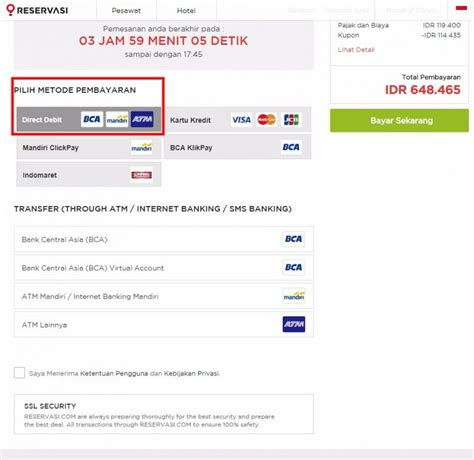 bca virtual account pembayaran tiket pesawat di reservasi kini makin mudah