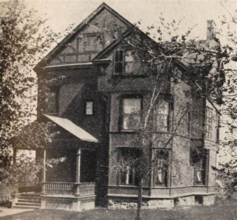 when was the first house built the alpha phi chapter house on university avenue in