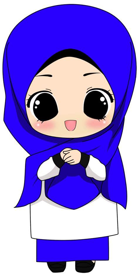 freebies doodle muslimah comel fizgraphic freebies doodle comel