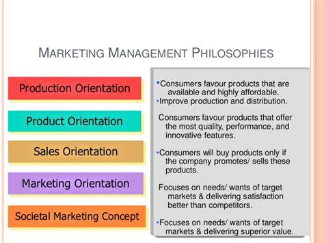 marketing management philosophies studiousguy marketing management revision