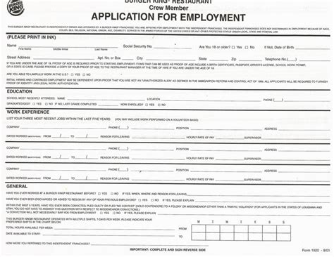 printable job applications 25 best ideas about printable job applications on