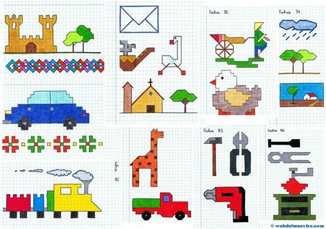 imagenes para dibujar en cuadricula dibujos en cuadr 237 cula web del maestro